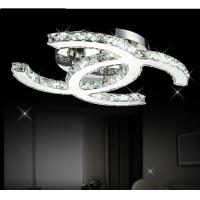 Wholesale Modern CC design Led crystal Silver crystal Ceiling Lights from china suppliers