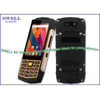 Wholesale Android Rugged Handheld Computer , most durable military mobile phone N2 from china suppliers