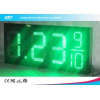 Wholesale 18 Inch Large Led Gas Station Price Display , Gas Price Sign Numbers from china suppliers