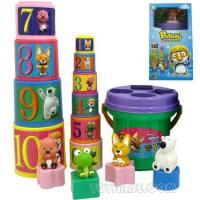 Wholesale Plastic Toy - Toy Bricks Bucket (IBC66510) from china suppliers