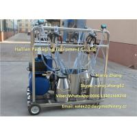 Quality 25L Dairy Farm Milking Machine Removable Milking Equipment For Cows for sale