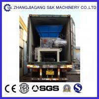 Wholesale Low Speed Wood Grinder Machine Crusing Case 22KW , Wood Recycling Machine from china suppliers