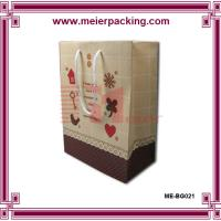 Wholesale Custom Logo Printed Paper Shopping Bags/Europe Fancy Paper Bag Packaging Bag ME-BG021 from china suppliers