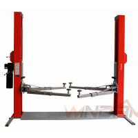Wholesale Dual Hydraulic Cylinders Two Post Car Lift With Adjustable Beam from china suppliers
