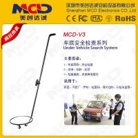 Wholesale Portable Wheel Automotive Vehicle Inspection Mirror Led Flashlight 30cm Diameter convex from china suppliers