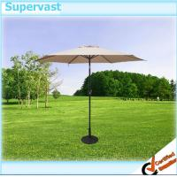 Wholesale Custom Garden Furniture Patio Market Umbrella With Crank / Tilt / LED light from china suppliers