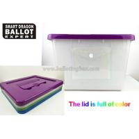 Wholesale Custom Clear Acrylic Ballot Box  Multi-Functional Plastic Acrylic Donation Box 40-50 L from china suppliers