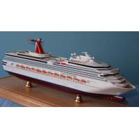 Wholesale Triumph Carnival Cruise Ship Models Stimulation Technological Effect For Home from china suppliers