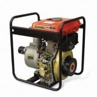 Wholesale 10HP Diesel Water Pump with 5.5L Fuel Tank Capacity and 4 Inches Inlet/Outlet Diameter from china suppliers