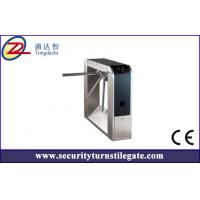 Wholesale 304 Stainless Steel Fingerprint Entrance tripod turnstile for access control system from china suppliers