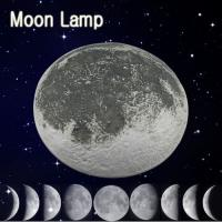 Wholesale Relaxing Healing Moon LED Wall Light with Remote Control from china suppliers