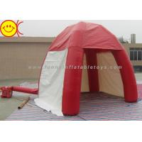 Wholesale Outdoor Lawn Event Mini 3m Inflatable Tent PVC Red Inflatable Dome Tent With Door from china suppliers