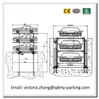 Wholesale 2-3 Levels  Pit Parking Mechanical Carport Parking Lift Basement Car Stack Parking System from china suppliers