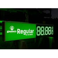 Wholesale Led Oil Price Screen 18 inch gas price changer LED sign Manual from china suppliers