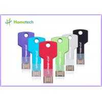 Wholesale Original multi color Metal Thumb Drives , Computer Flash Drives 512 MB / 1GB / 2GB 4GB 8GB from china suppliers