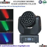 Wholesale 37 pcs 3W LED Moving Head Wash Beam Light Professional LED Stage Lighting from china suppliers