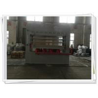 Wholesale Melamine Door Skin Multi Layer Veneer Hot Press Machine For Doors , Wood Press Machine from china suppliers