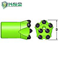 H25 - H-thread Button Drill Bit Dia.35mm-57mm Drill Bit For Mining