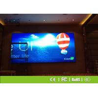 Wholesale 1R1G1B HD P4 Indoor LED Display , Front Maintenance Series LED Advertising Screen from china suppliers