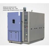 Wholesale Water Cooled Altitude Simulation Chamber , Aeronautical Simulated High Temperature And Pressure Test Box from china suppliers