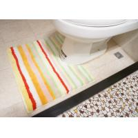 Wholesale Hotel / Home bathroom toilet floor mats , Washable non skid bath mats from china suppliers