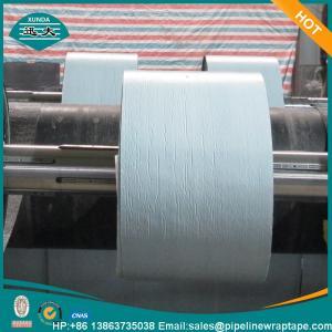 Wholesale Polyethylene Bitumen Anti Corrosion Tape Self Adhesive XUNDA T 600 Black 1.65mm Thick from china suppliers