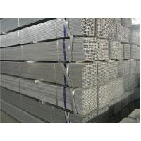 Wholesale Welded Rectangular Steel Tube / Motorcycle Hollow Section Pipe Electric Resistance from china suppliers