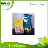 Wholesale flat bottom zippered sachet from china suppliers