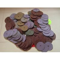 Wholesale Honeycomb dry hand polishing pads for concrete polishing from china suppliers