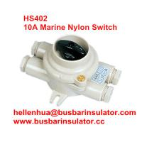Wholesale 10A marine nylon boat accessories switch HS402 electricial connectors handware in bulk from china suppliers