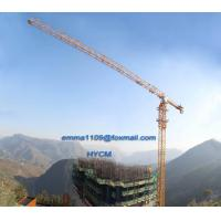 Wholesale Big 20t Load Flat Top Tower Crane PT7532 Model Cat Head Type from china suppliers