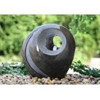 Wholesale Hand Cast Ball Water Fountain , Water Sphere Fountain For Courtyard from china suppliers