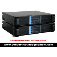 Wholesale 4 Channel Switch Mode Amplifier 4 x 1300W FP 10000Q For Line Array Speakers In Concert from china suppliers