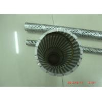Wholesale Stainless Steel Perforated Spiral Welded Pipe / Punched Metal Pipe For Filter Tubes from china suppliers