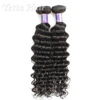 Wholesale Deep Wave 7A Cambodian Virgin Hair Natural Black For Dream Girl from china suppliers