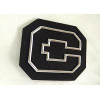 Wholesale Personalized Non - Phthalate High Frequency 3D Rubber Patches With Silver Tpu Logo from china suppliers