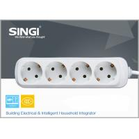 Wholesale Europe type Extension Socket Outlet Power Strip for kitchen , bedroom from china suppliers