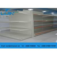 Quality Four Levels Supermarket Display Racks 120 - 150kg / Layer Loading Capacity for sale