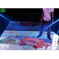 Wholesale Indoor LED Dance Floor Display , Wedding Wifi Control Floor Screen from china suppliers
