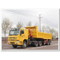 Wholesale HOWO SERIES 4x2 TRACTOR TRUCK / TRACTOR HEAD/ PRIME MOVER 4X2 EURO 2 FOR SALE FOR PULLING DUMPER TRAILER from china suppliers