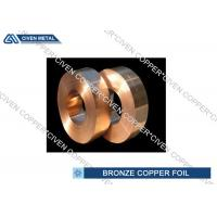 Wholesale ISO Standard Phosphor Bronze Alloy Copper Foil Rool , brass foil roll from china suppliers