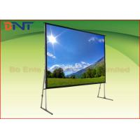 Wholesale High Transparent Rear Projection Projector Screen For 100 Inch Portable Fast Fold Screen from china suppliers