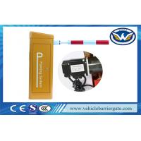 Wholesale High Speed Auto Vehicle Parking Barrier Gate System With Dc24v Serve Motor from china suppliers