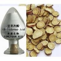 Wholesale Glycyrrhetinic Acid 98% pure herbal ingredients high quality Anti-inflammatory, 100% natural, Shaanxi yongyuan Bio-Tech from china suppliers