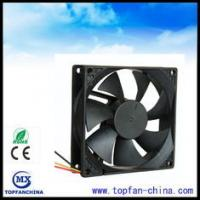Wholesale 12V Auto Cooling DC Axial Fans , Computer Box Brushless Cooling fan Sleeve Bearing from china suppliers