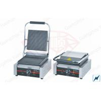 Wholesale Stainless Steel Single Contact Grill , Commercial Kitchen Equipments from china suppliers