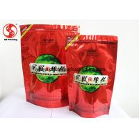 Wholesale Glossy Finished Reclosable Zipper Stand - Up Food Pouch For Coffee / Tea Packaging from china suppliers