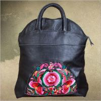 Wholesale OEM Cow leather bags women handbags 100% Genuine leather handbags from china top factory from china suppliers