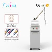 Wholesale 1500mj Passive Q-switched Laser Tattoo Removal Machine with Manufacturer Price from china suppliers