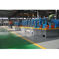 Wholesale HG140 ERW Pipe Mill / Tube Manufacturing Machine 40-60m/Min Speed from china suppliers